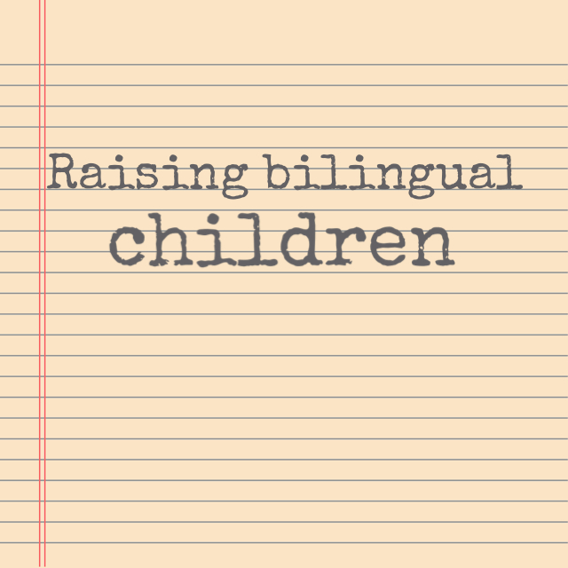 Raising bilingual children seminar