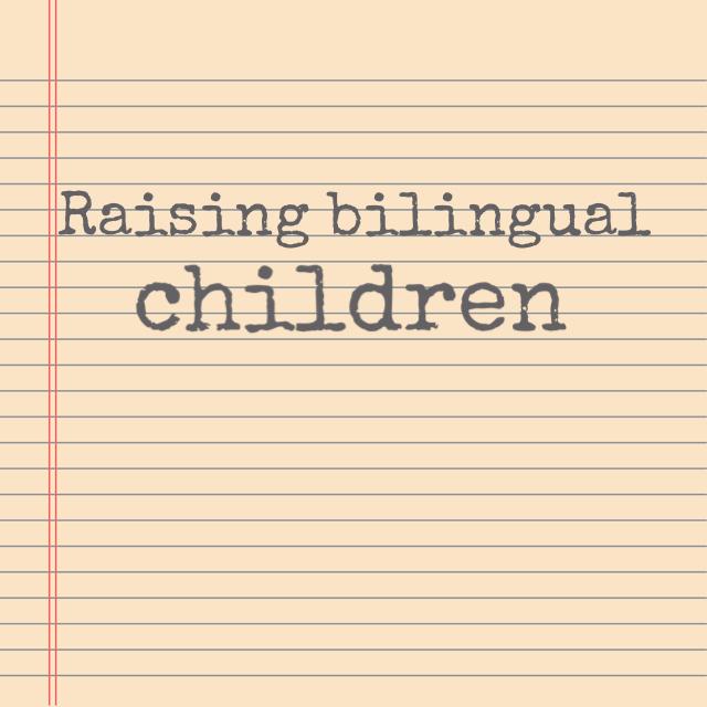 Raising bilingual children seminar